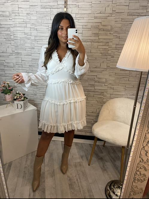 Robe Yolande blanche