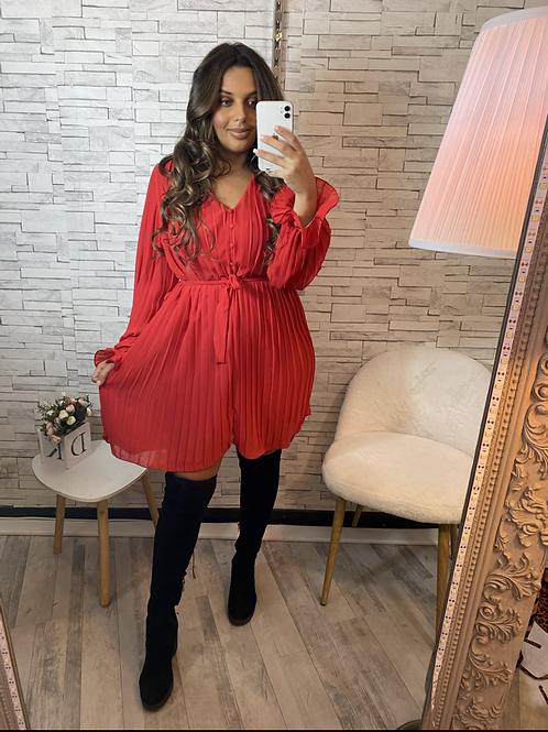 Robe scarlett rouge