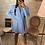 Thumbnail: Robe Blazer Lucia bleu