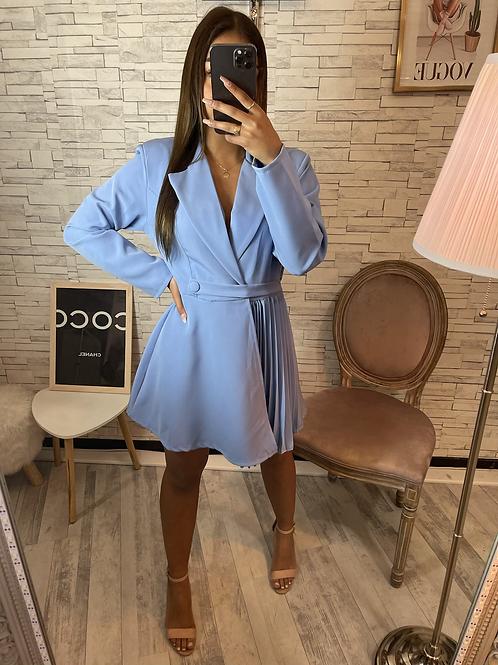 Robe Blazer Lucia bleu