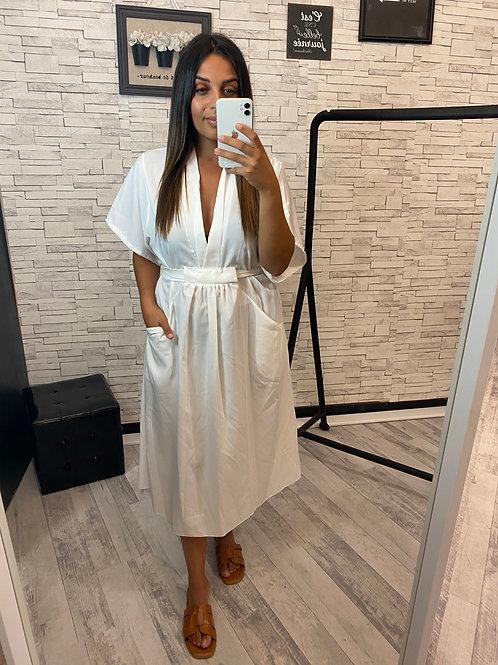 Robe Muriel blanche