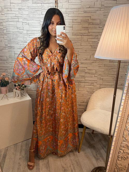 Robe Dina orange