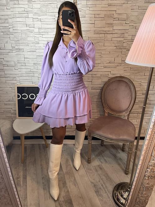 Ensemble Olivia violet