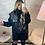 Thumbnail: Veste courte sans manche simili cuir noir