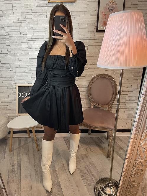 Robe Camille noir