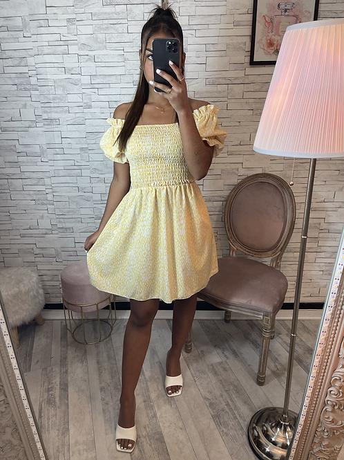 Robe Camille jaune