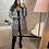 Thumbnail: Veste à carreaux gris mi longue