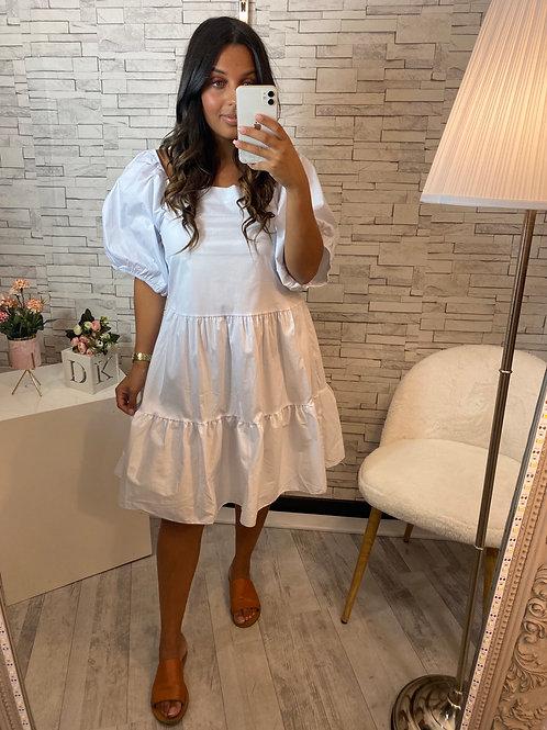 Robe Léa blanc