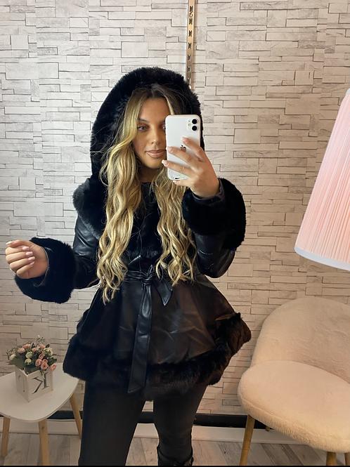 Manteau Pamela noire