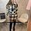 Thumbnail: Veste et jupe à carreaux lamia