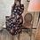 Thumbnail: Robe Claudia à fleurs noir
