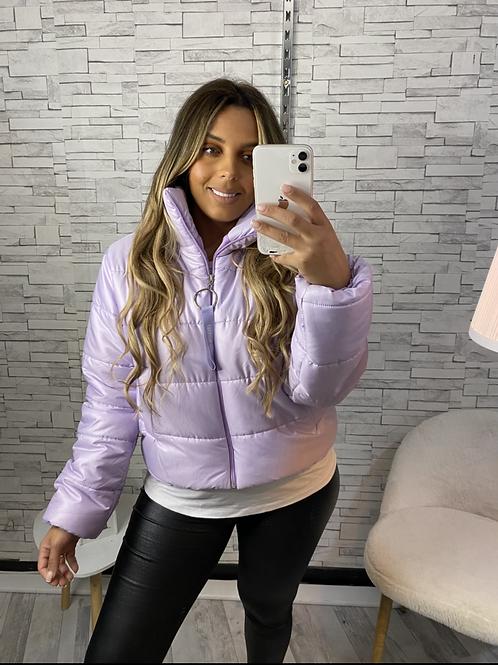 Doudoune Selin violette