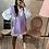 Thumbnail: Pull sans manche à noeud violet
