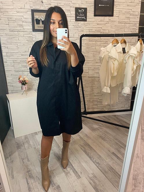 Veste robe Queen noire