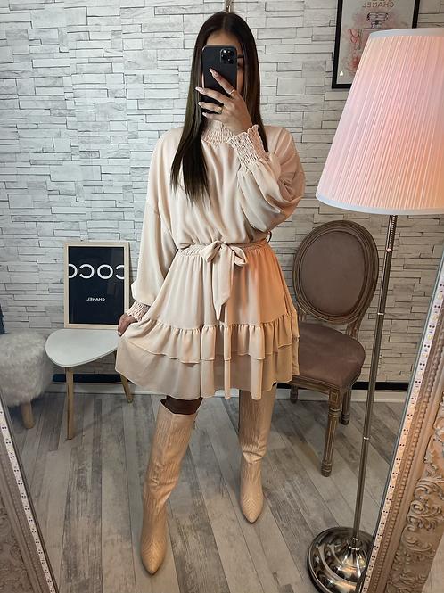 Robe Élise beige