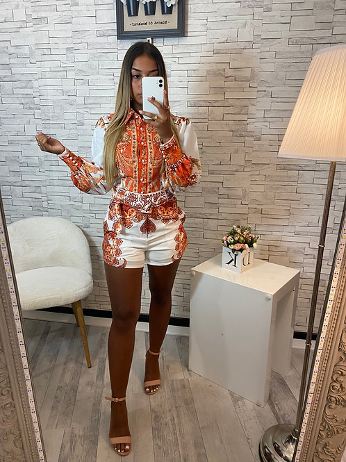 Short Miliana orange