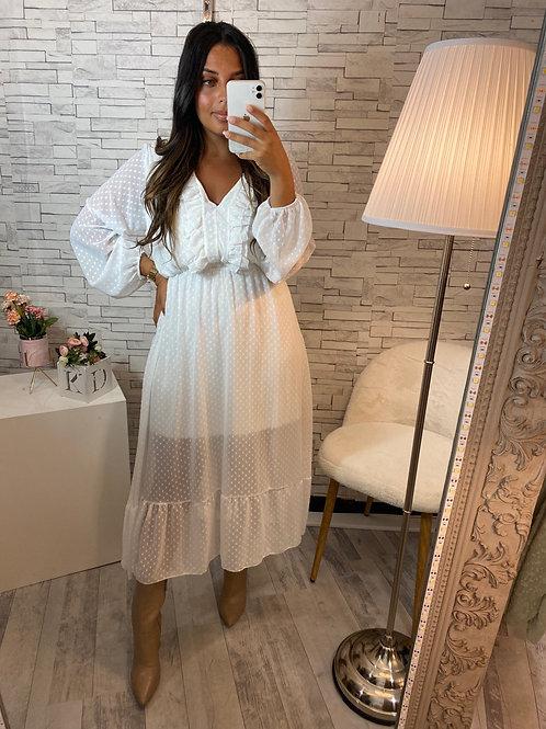 Robe Alixia Blanc