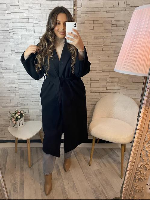 Manteau Juliette noir