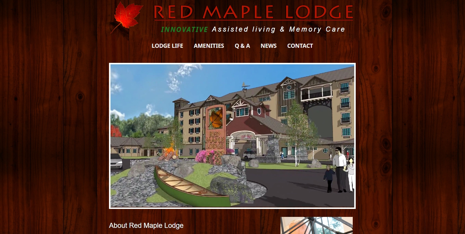 Wild Zebra Media for Red Maple Lodge