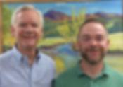 Dr. Rhett Tusken and Dr. Christopher Tusken