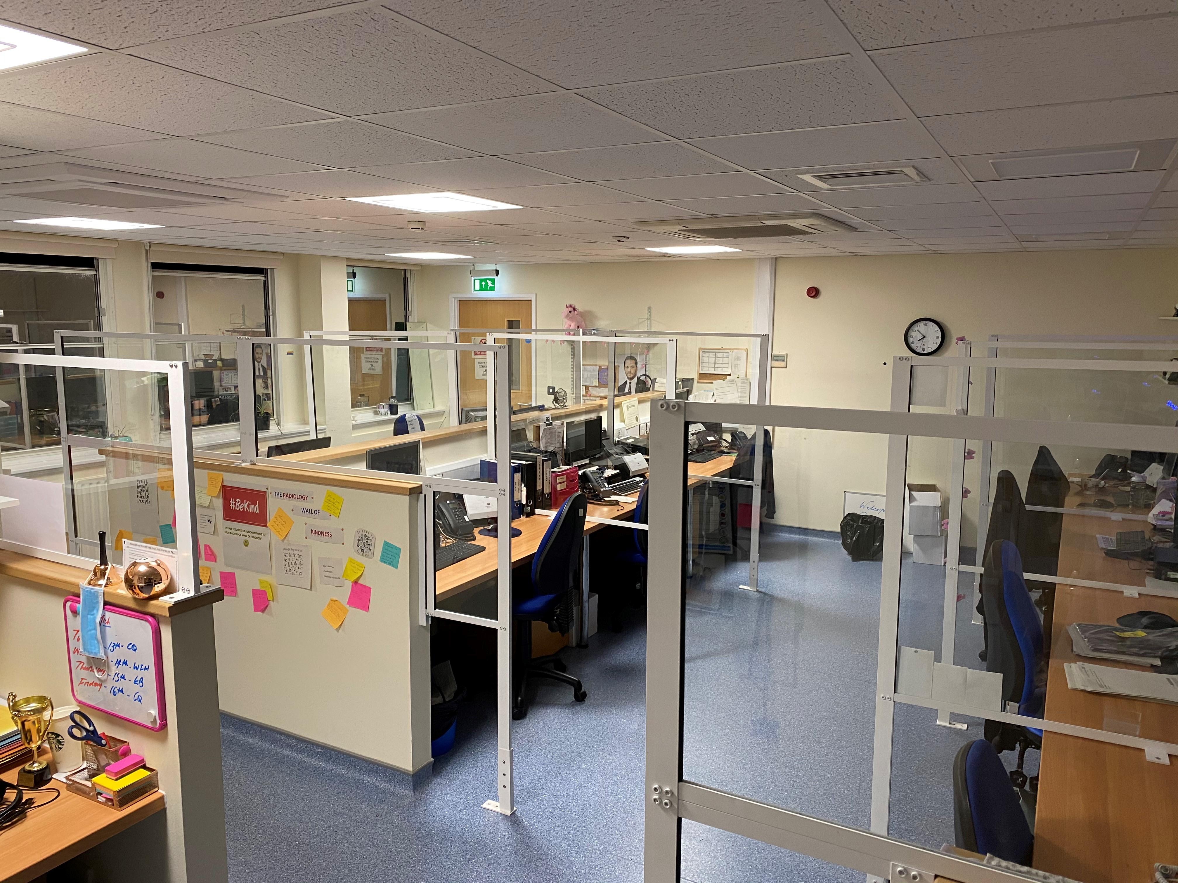 Radiology Offices Eastbourne DGH