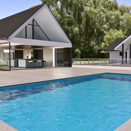 Bijhuis met zwembad - Dépendance avec piscine - Outhouse with pool