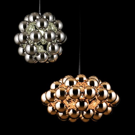 Beads by Winnie Lui - spun stainless steel