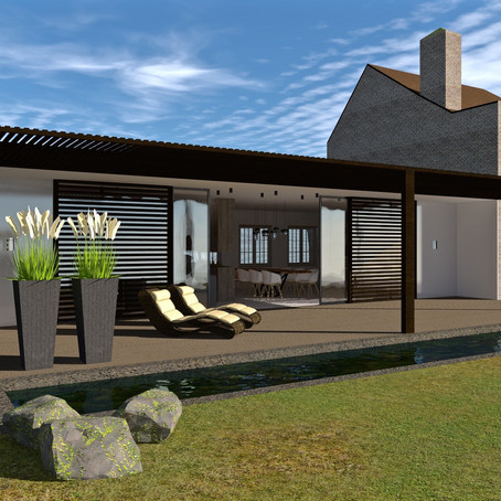 New project - extension to an existing villa