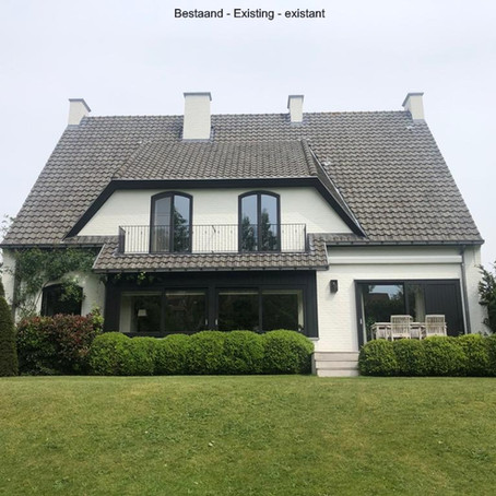 Villa: uitbreiding  van de keuken + terras+zwembad+poolhouse+sauna en jacuzzi