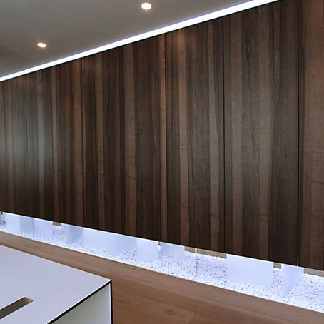 Shinnoki - prefinished wood panels - made in Belgium