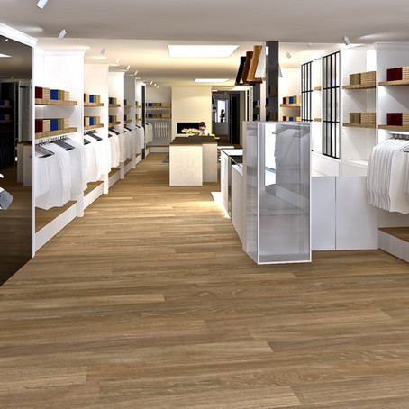 Restyling of a fashion store in the Netherlands