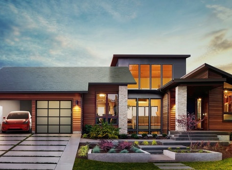 Tesla unveils new solar-powered roof tiles and longer-lasting batteries ...