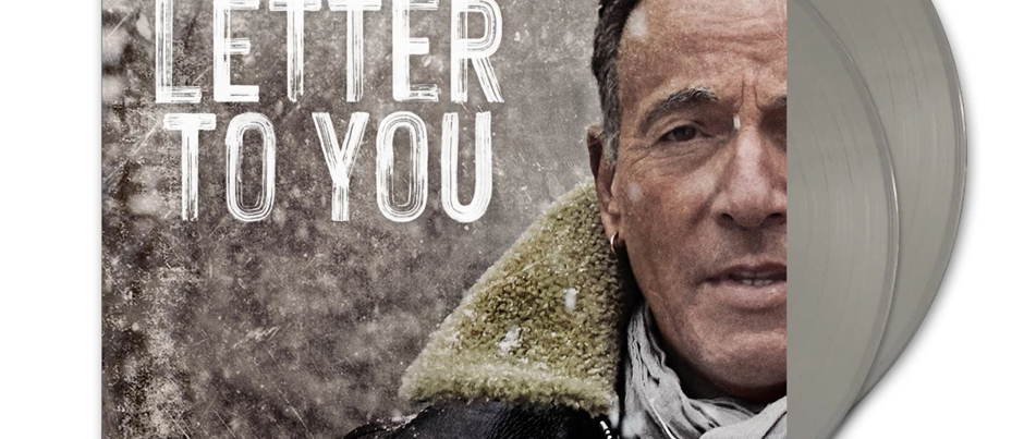 Bruce Springsteen and the E-Street Band - Letter to you (Limited Grey Vinyl)
