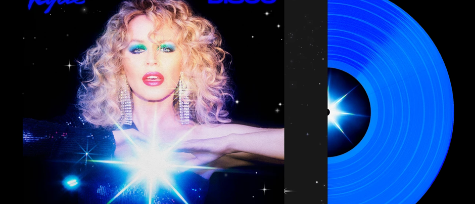 Kylie Minogue – Disco (Indie Only Blue Vinyl) (BSM)