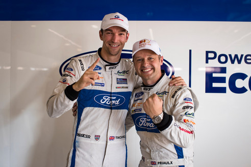 TINCKNELL'S FORD GT FINISHES SECOND IN FIA WEC ENDURANCE TROPHY FOR LMGTE PRO TEAMS