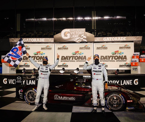 TINCKNELL WINS FOR MULTIMATIC MAZDA AS SPORTSCAR RACING RETURNS AT DAYTONA