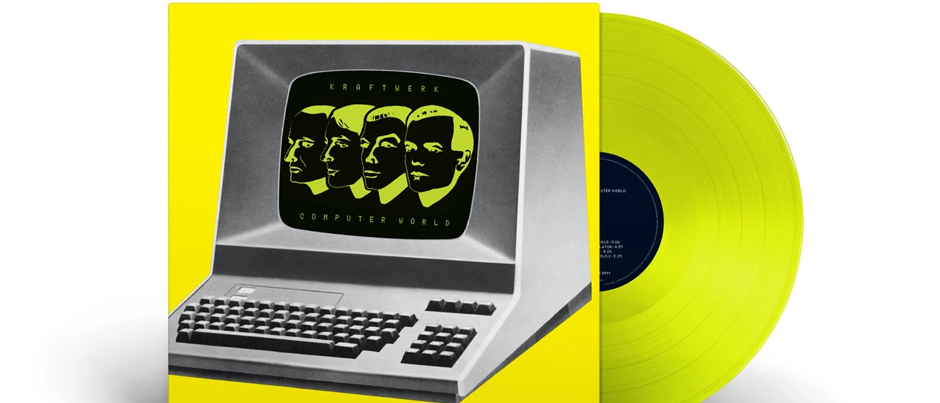 Kraftwerk – Computer World (Translucent yellow) (BSM)
