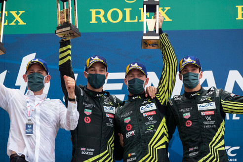 HARRY TINCKNELL WINS 24 HOURS OF LE MANS FOR THE SECOND TIME