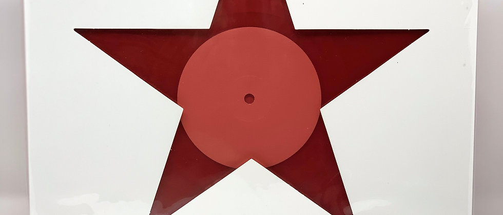 "Black Star – Red 12"" Single – Limited Japan Release"