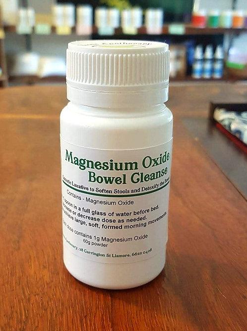 Magnesium Oxide Bowel Cleanse