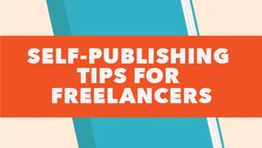 Self-publishing tips for freelancers