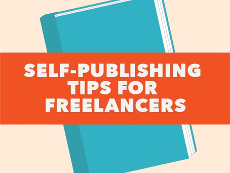 Self-publishing tips for freelancers