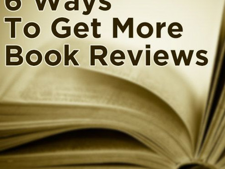 6 Ways To Get More Book Reviews