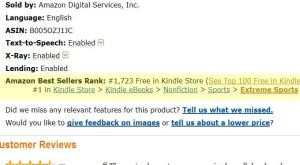 Amazon Keywords for Books and Authors 3