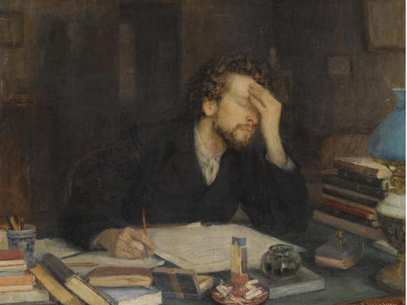 Poem – I Slept For An Hour