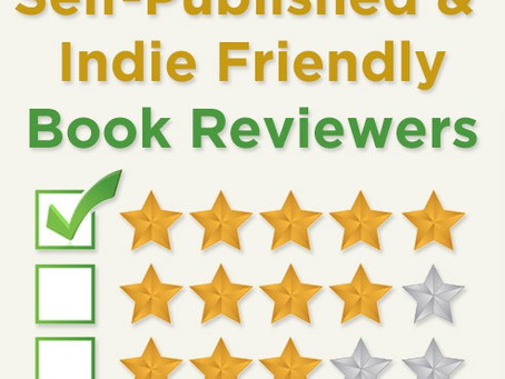 Self-Published/Indie Friendly Book Reviewers