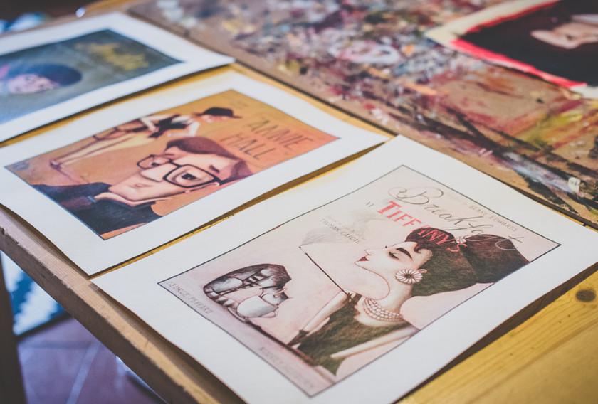 Mostra di illustrazioni di Giulia Del Mastio all'associazione L'Armadillo Firenze