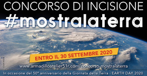 Concorso di incisione #mostralaterra 2020