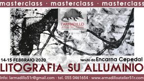 Masterclass di Litografia su alluminio