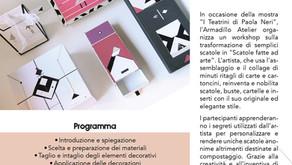 """Workshop """"Scatole fatte ad Arte"""""""